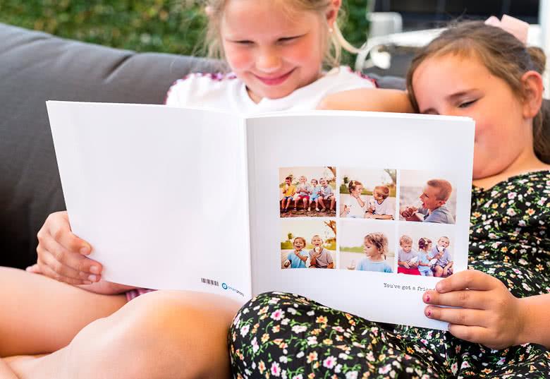 Fotobok stor kvadratisk mjukt omslag