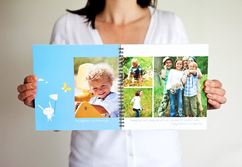 Fotoboek Large vierkant - spiraalbinding