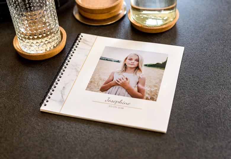 Fotoboek L vierkant - spiraalbinding