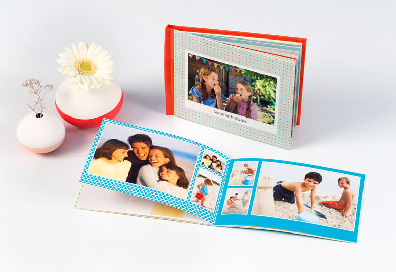 Fotoboek Medium liggend - zachte fotokaft