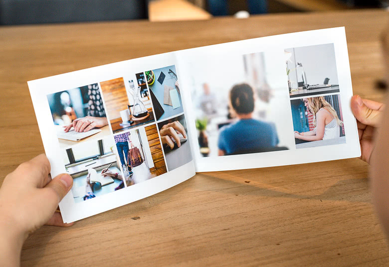Fotoboek liggend M - zachte fotokaft