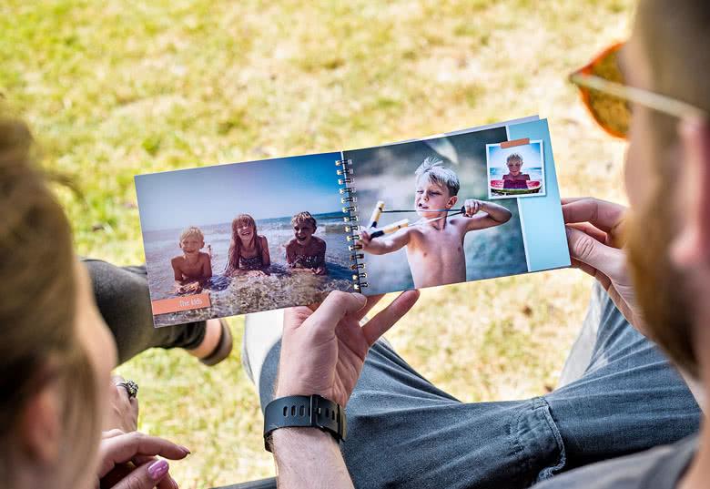 Fotoboek M liggend - spiraalbinding