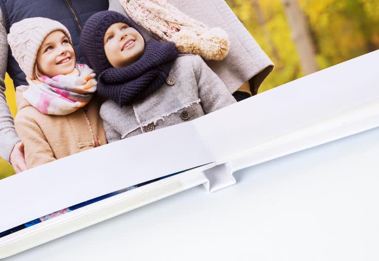 Fotoboek XL liggend - harde linnen kaft