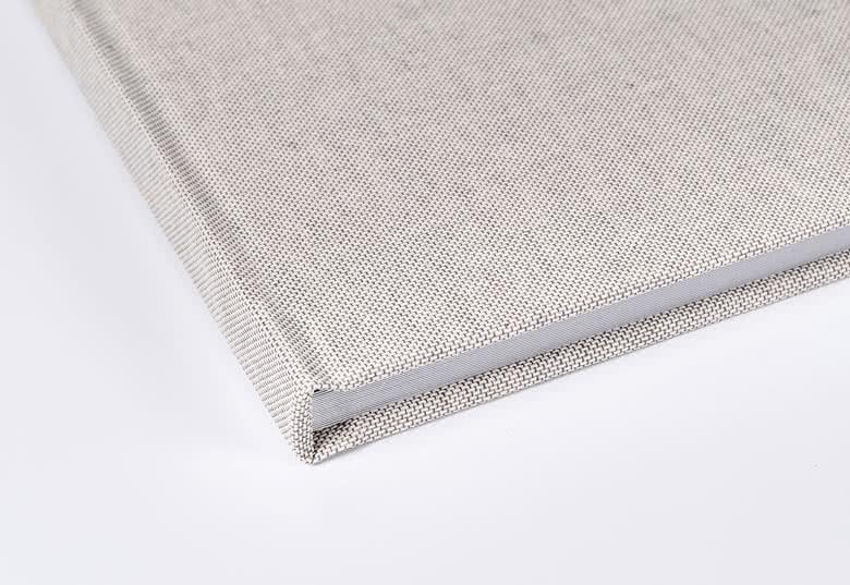 Fotoboek XL vierkant - harde linnen kaft