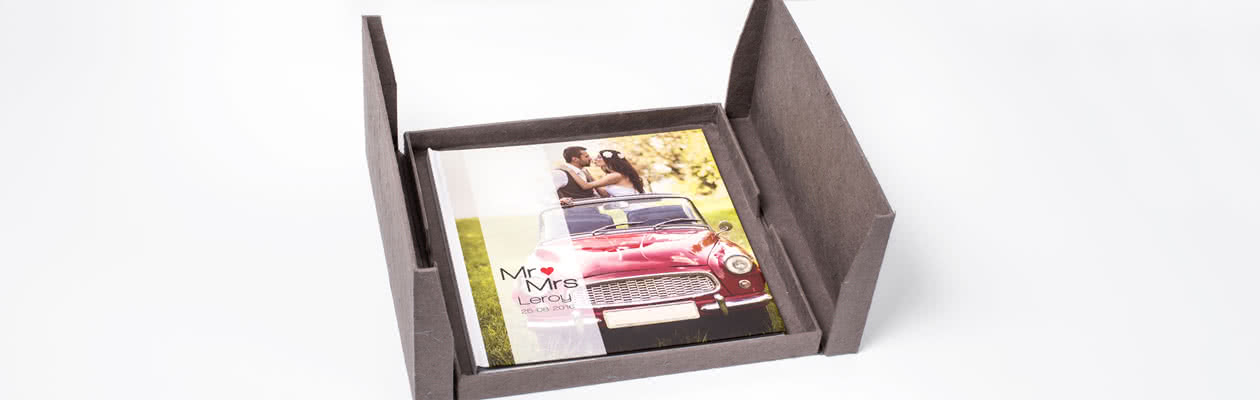 Classic gift box with different compartments