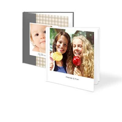 Fotoboek XL vierkant - harde fotokaft