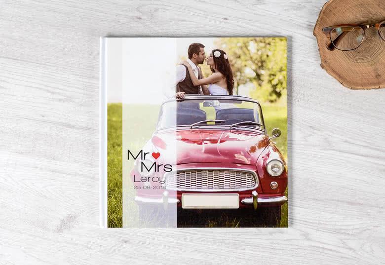 Fotobuch XL Hochformat Deluxe - Hardcover mit Foto