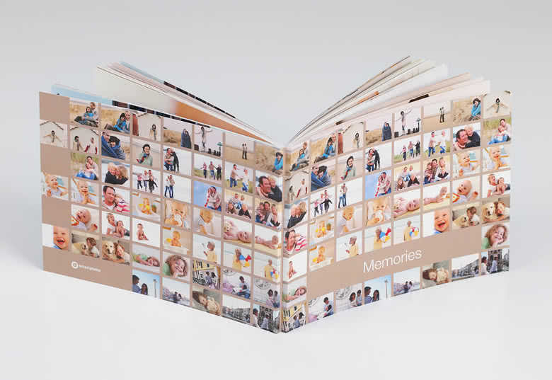 Fotocollagekaft met alle 100 door jou geselecteerde foto's