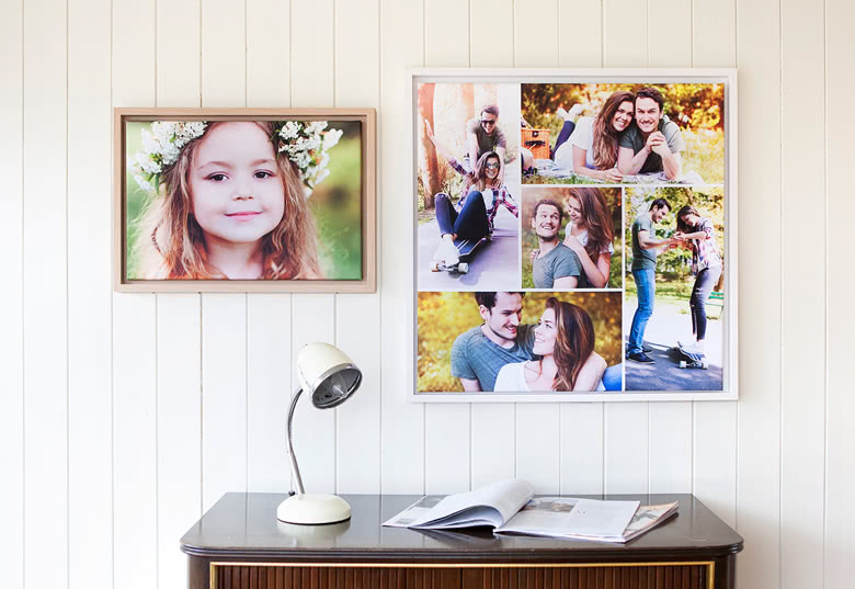 Decorate your walls with your pictures