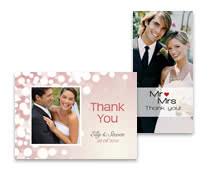 carte 1 volet - Remerciement Mariage