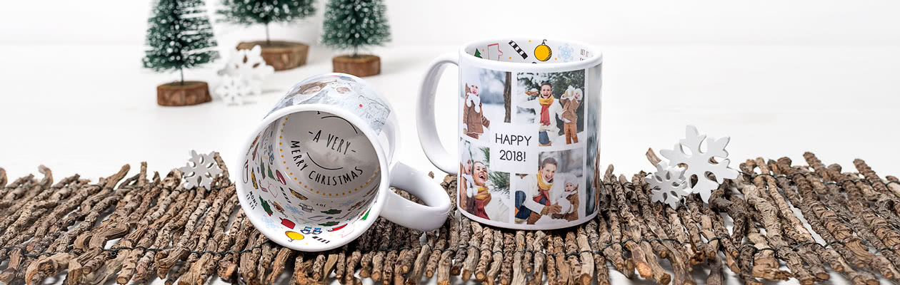 LIMITED EDITION - Verwandeln Sie Ihre Tasse in eine weihnachtliche Tasse