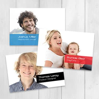Visitekaartjes maken met eigen fotos smartphoto format reheart Images