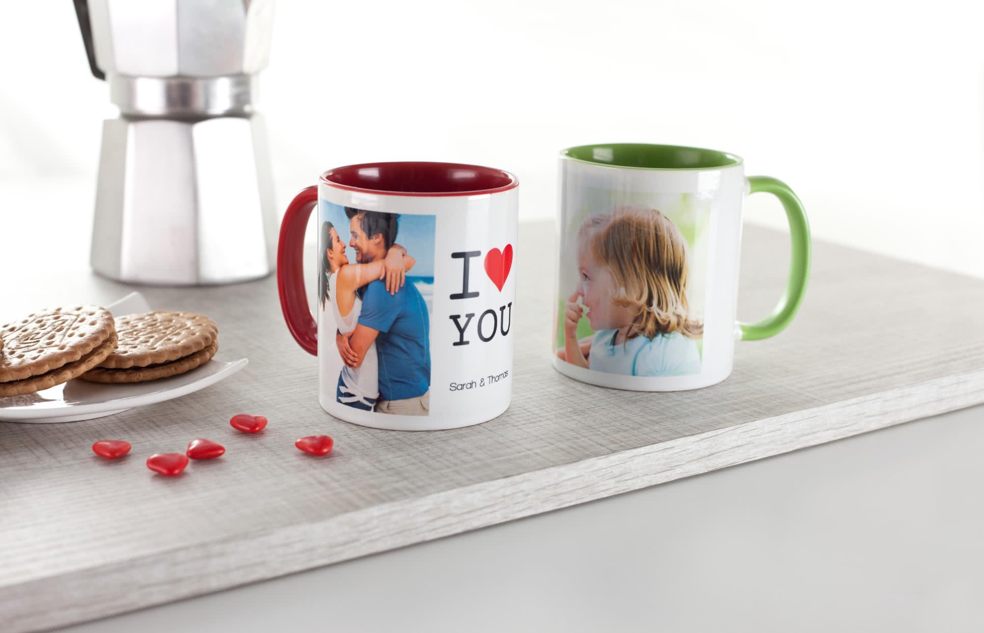 id e cadeau mug couleur personnalis avec photos. Black Bedroom Furniture Sets. Home Design Ideas