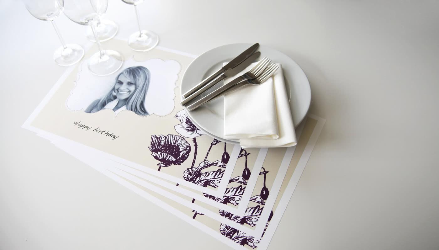 Tischset Mit Foto Von Smartphoto Schöne Fotogeschenke