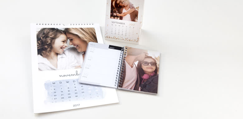 Calendriers photo & Agendas photo
