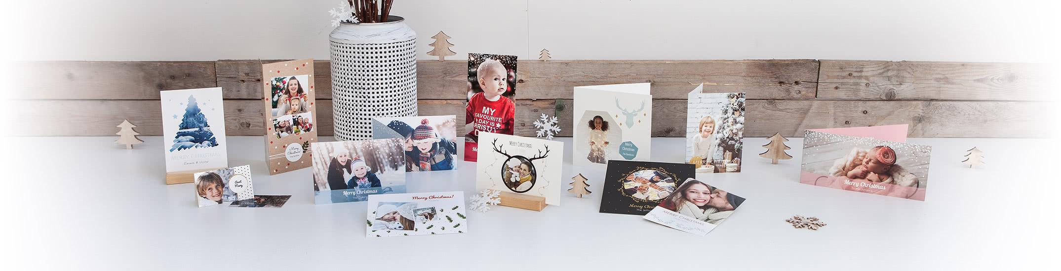 Kerstkaartjes met foto's