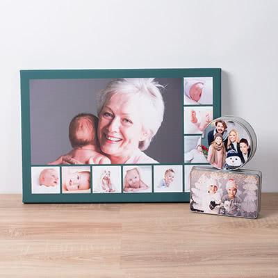 Cadeau Noël grands-parents personnalisé