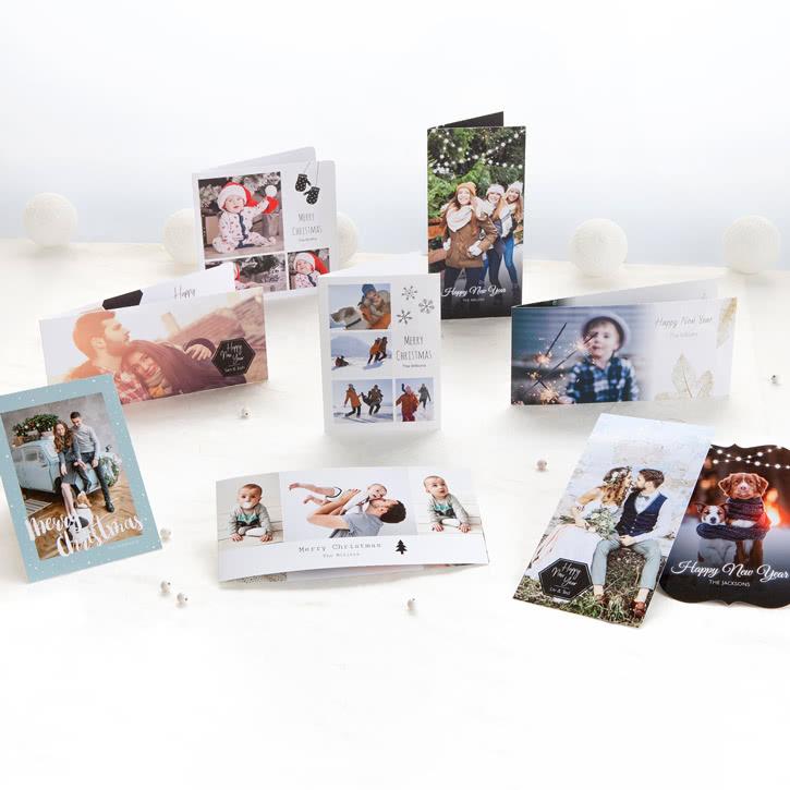 Geschenke, Deko, Karten uvm. mit eigenem Foto zu Weihnachten