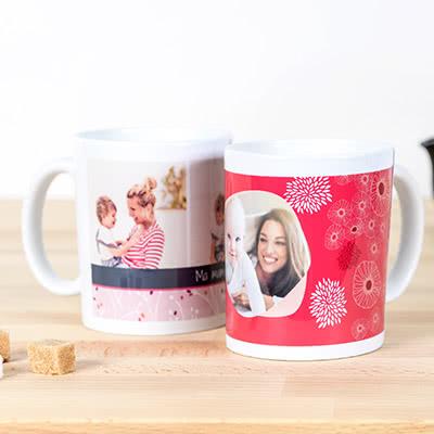 cadeau fête des mères personnalisé mug photo