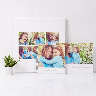 cadeau fete des mères personnalisé livre photo