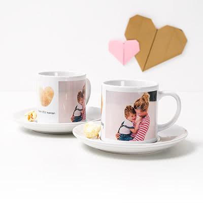 cadeau fête des mères personnalisé tasses à café