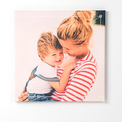 cadeau fête des mères personnalisé photo sur toile