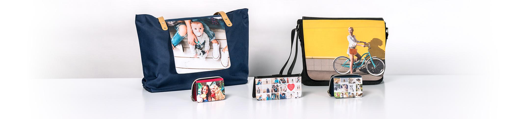Väskor och Plånböcker med eget motiv Image