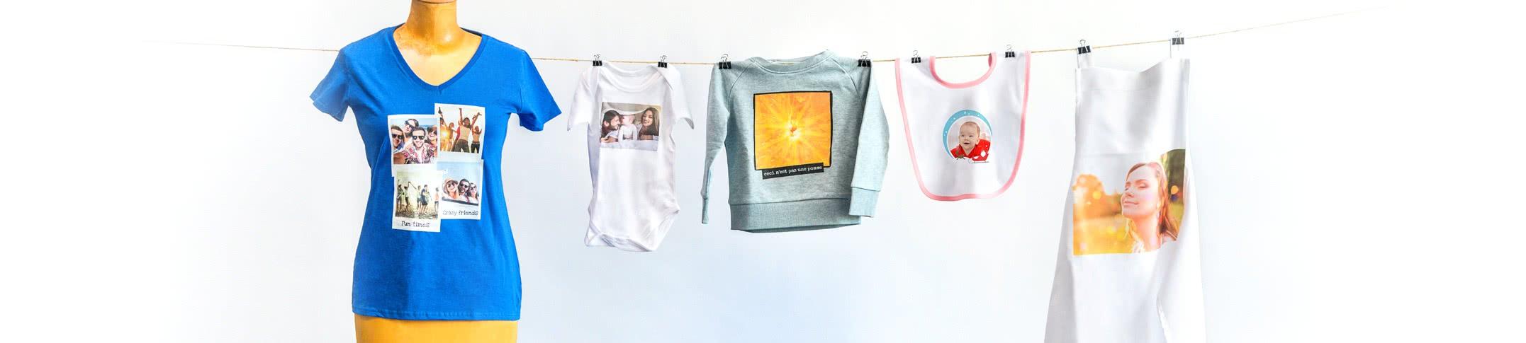 Tekstiilit omalla kuvalla - Vaatteita ja t-paitoja omalla kuvalla!