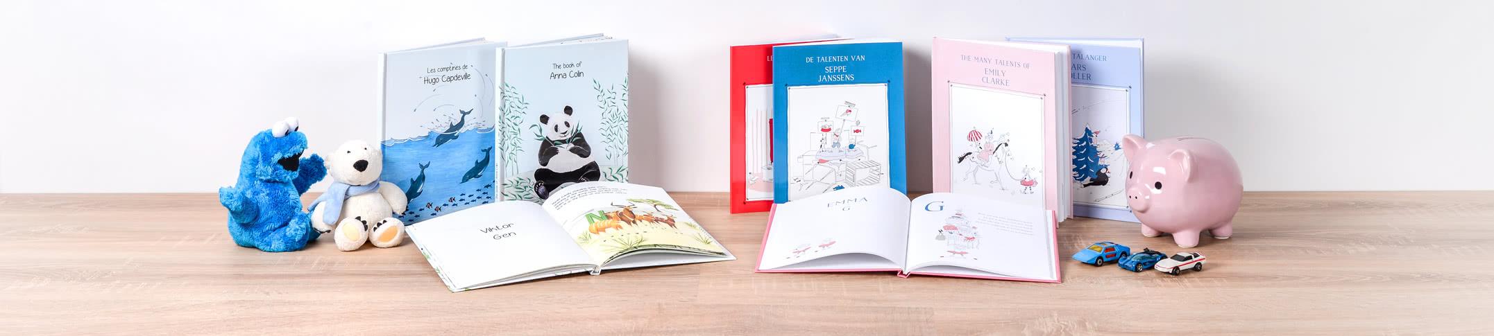 MyNameBook - Kirja jossa lapsesi on päähenkilönä omassa sadussaan!