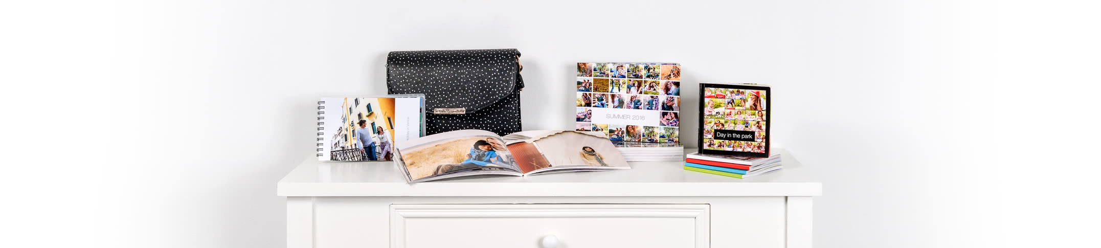 Fotoalbum met fotoprints