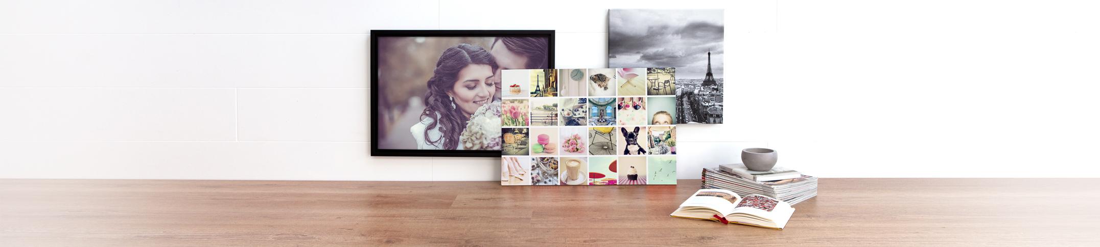 Fotolerret som Veggdekorasjon - Skap din egen veggkunst av favorittbildene dine!