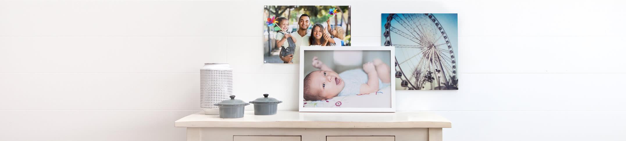 Väggdekoration med fotopapper - Gör fin väggkonst på fotopapper av hög kvalitet