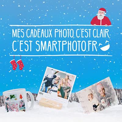 Mes cadeaux photo c'est clair c'est smartphoto.fr