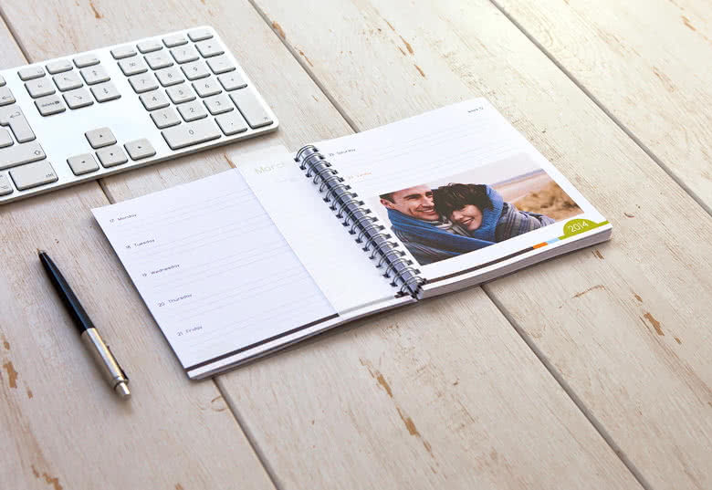 Créez votre agenda photo Medium