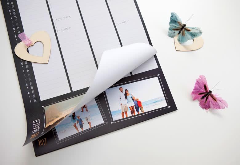 Familien Planer mit eigenen Fotos