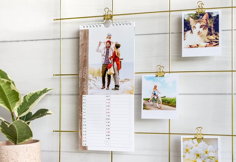 Personnalisez votre Calendrier de cuisine avec vos photos