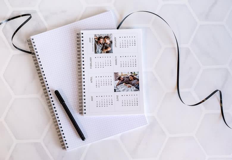 Notizbuch Kalender
