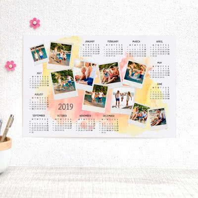 Plakatkalender Stående