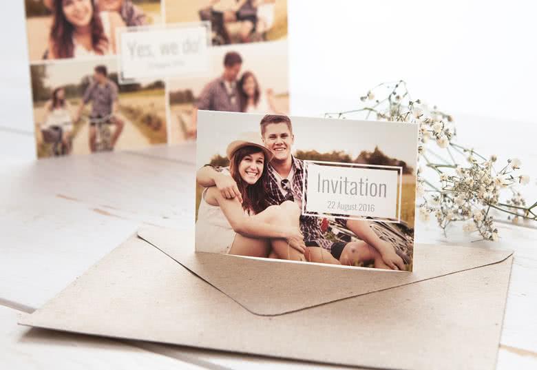 Skapa ett unikt Info-kort Bröllop