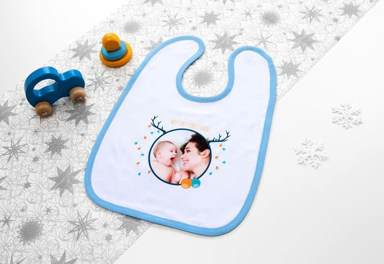 Creëer een gepersonaliseerd slabbetje voor je baby