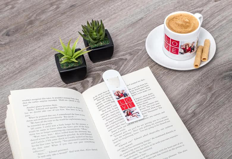 Maak een boekenlegger