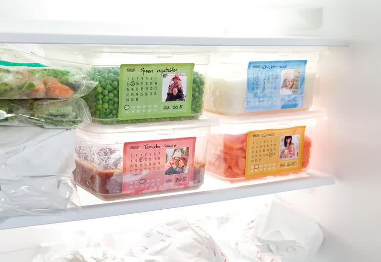 Tiefkühl-Etiketten gestalten