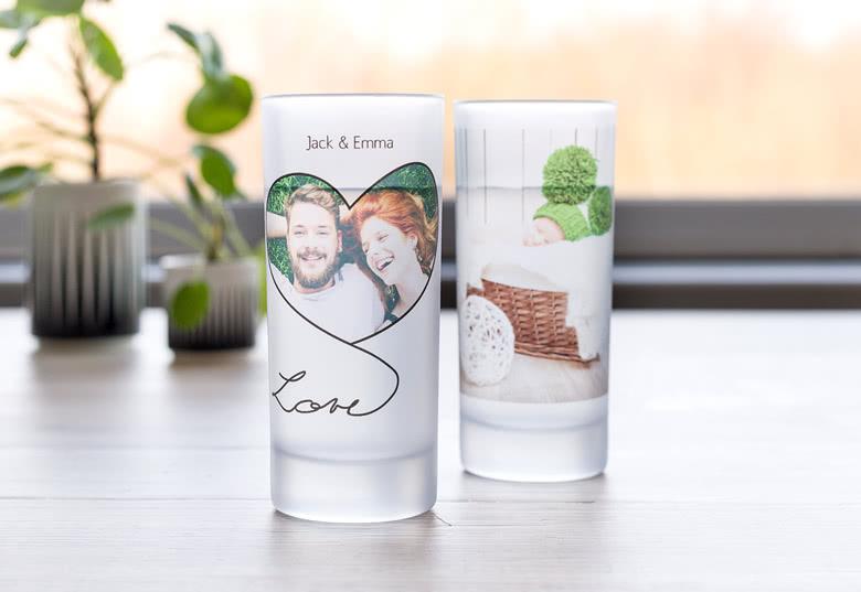 Kreieren Sie Ihr individuelles Trinkglas