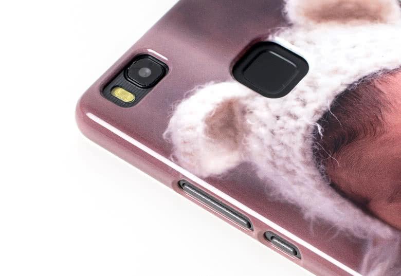 Sätt ett foto på ett Huawei-skal