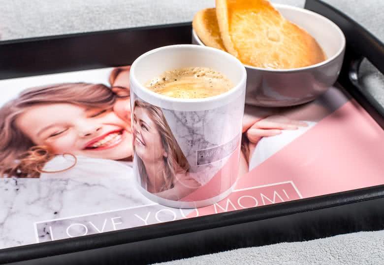 Tasse mit Foto gestalten