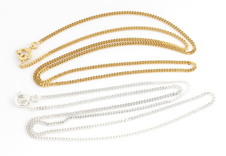 Optioneel bijpassende halsketting van 45 cm