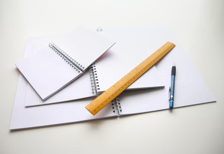 Schrijfblok heeft jouw foto op de voor- en achterkant