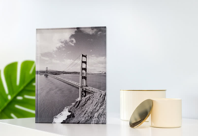 Je crée ma photo sur verre