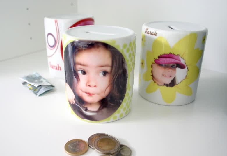Personaliseer je spaarpot