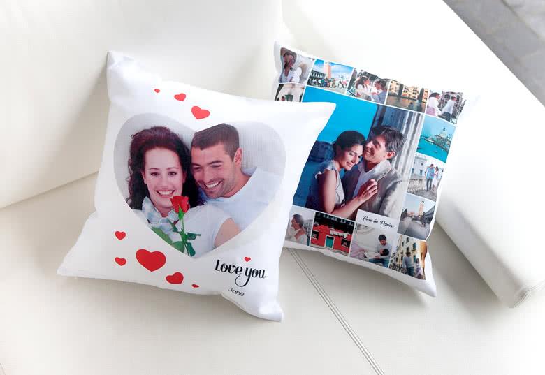 Kissen mit Foto gestalten